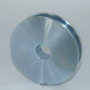 4″ Sheave, Industrial Quality, 25/32″ Wide Machined Sheave with 7/8″ Bore