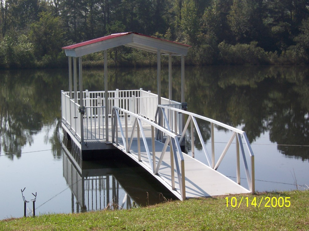 Specialized sheave custom for marine & Wahoo Dock boat dock application with borings & flat mount